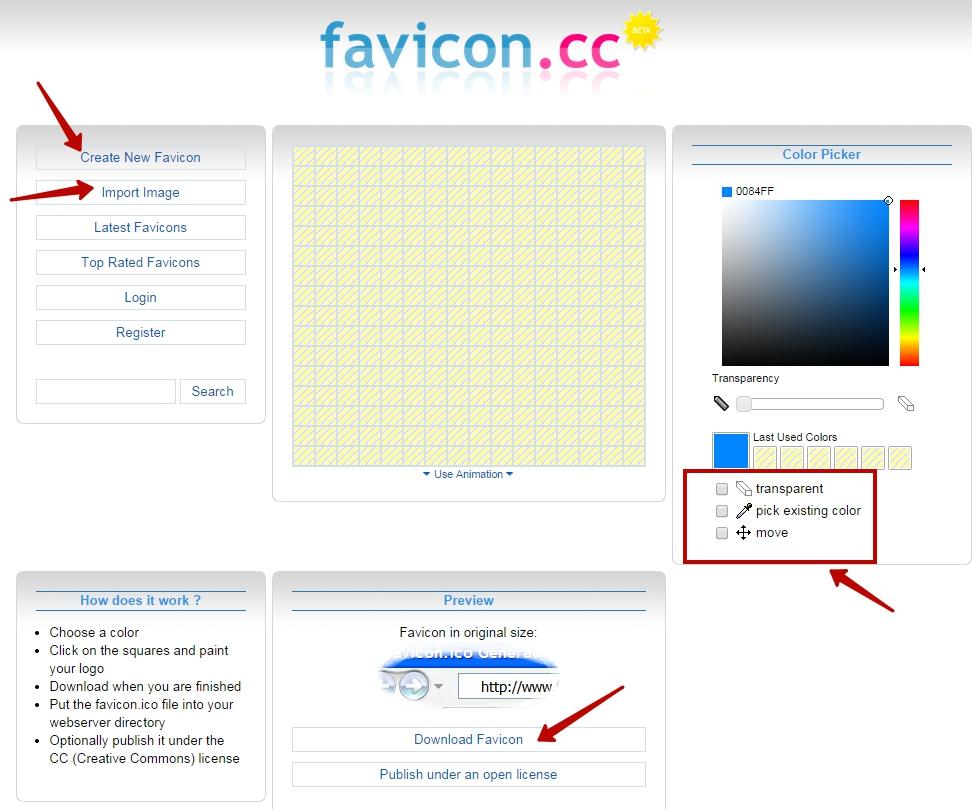 Как сделать фавикон на ucoz - 3dfuse.ru