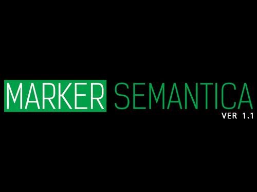 Инструмент MARKER от SEMANTICA