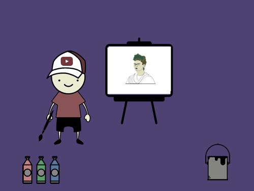 Значок канала для YouTube: рисуем как можем