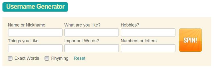 имя пользователя в инстаграме пример